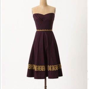 Girls from Savoy dress for Anthropologie, size 2